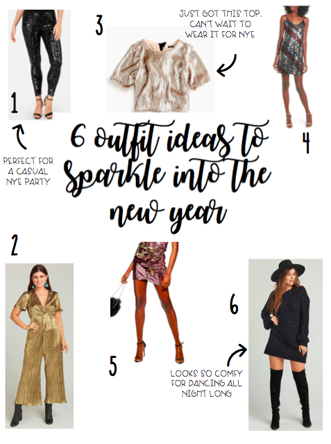 6 Outfit Ideas to Sparkle Into The New Year