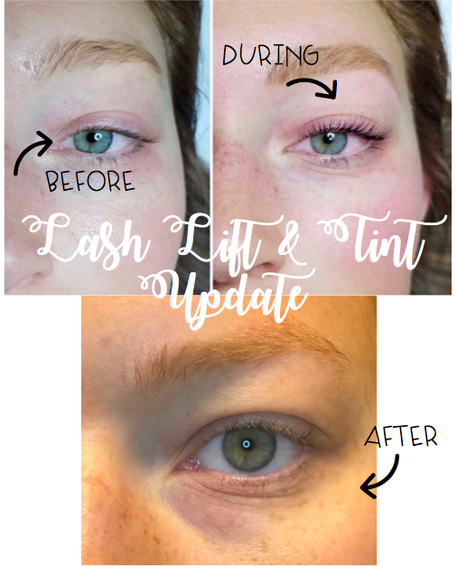 Lash Lift and Tint Update