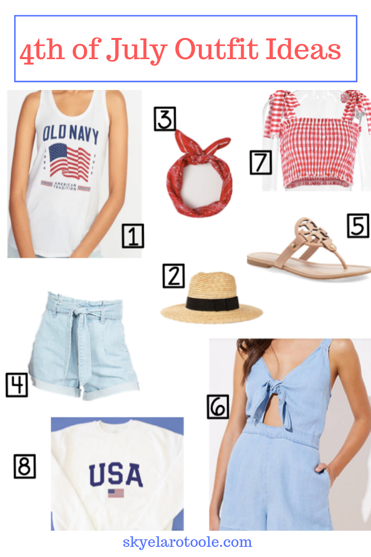 Red, White, & Cute Outfit Ideas for the 4th of July