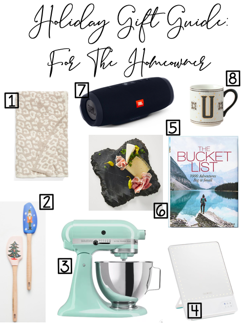 Holiday Gift Guide: For The Homeowner