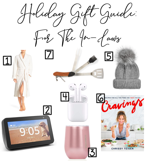 Holiday Gift Guide: For The In Laws
