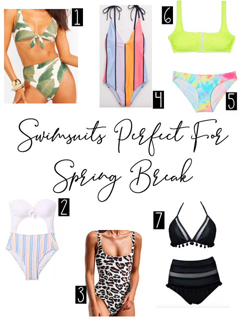 Swimsuits Perfect For Spring Break