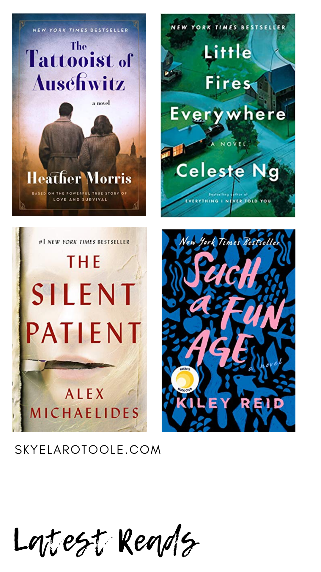 Latest Reads [April 2020]