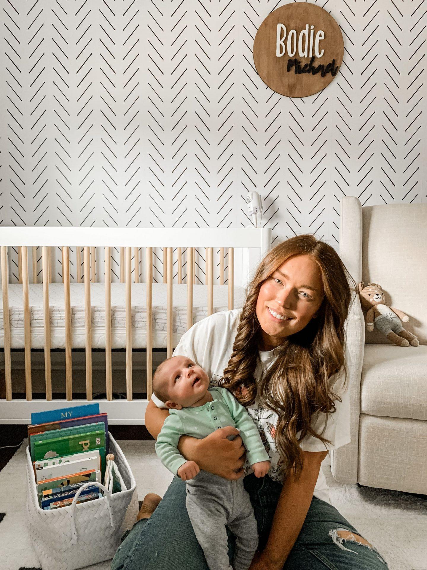 Bodie's Gender Neutral Baby Nursery Reveal